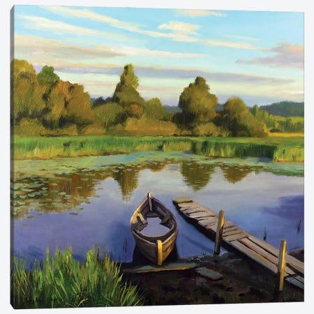 The Calm Summer Evening III Canvas Print #SGT22} by Serghei Ghetiu Canvas Art