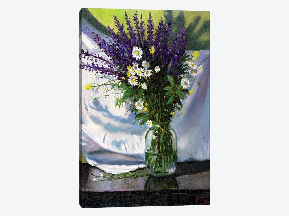 Bouquet Of Field Flowers by Serghei Ghetiu 1-piece Art Print