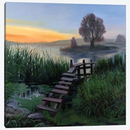 The Calm Summer Evening V Canvas Print #SGT24} by Serghei Ghetiu Canvas Print