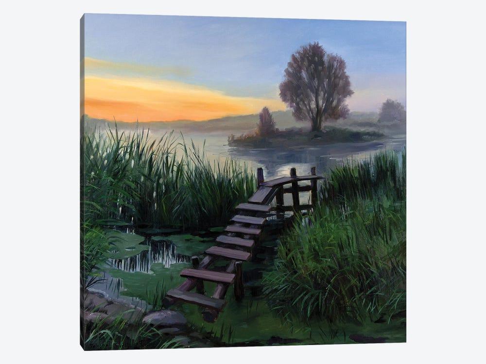 The Calm Summer Evening V by Serghei Ghetiu 1-piece Canvas Wall Art