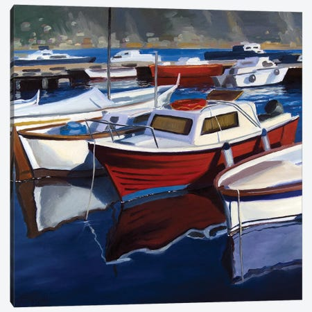 The Small Harbor Canvas Print #SGT25} by Serghei Ghetiu Canvas Print