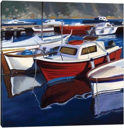 The Small Harbor Canvas Art Print