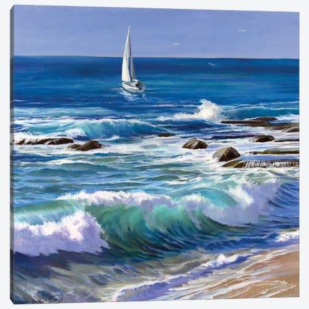 On The Coast Canvas Print #SGT26} by Serghei Ghetiu Canvas Art Print
