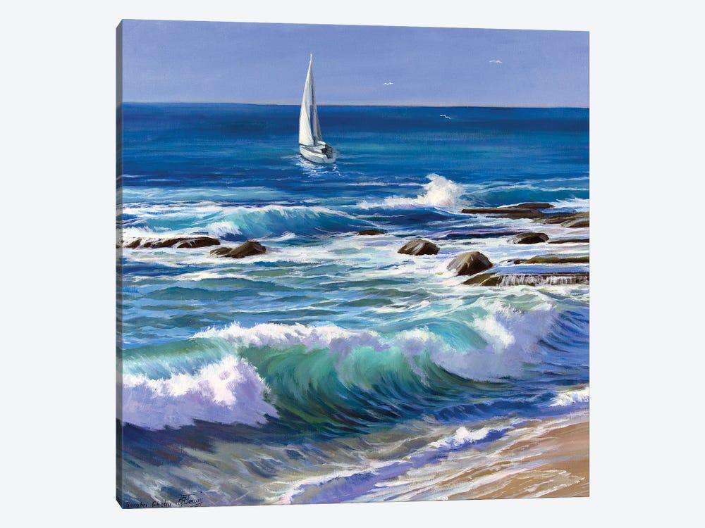 On The Coast by Serghei Ghetiu 1-piece Canvas Wall Art