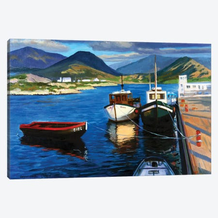 The Small Harbor II Canvas Print #SGT27} by Serghei Ghetiu Art Print