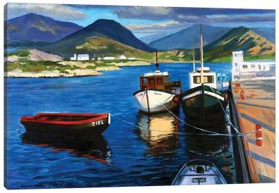 The Small Harbor II Canvas Art Print