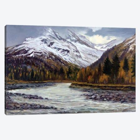Late Fall In The Mountains Canvas Print #SGT28} by Serghei Ghetiu Canvas Art