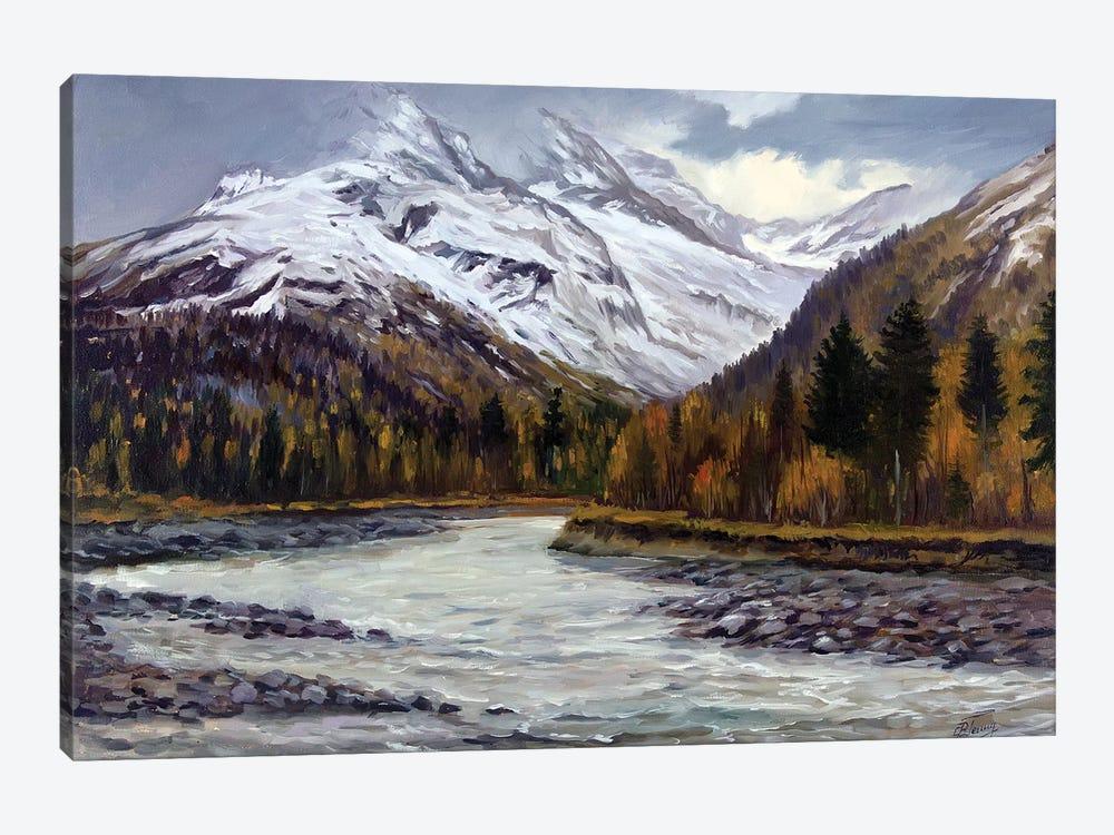 Late Fall In The Mountains by Serghei Ghetiu 1-piece Canvas Artwork