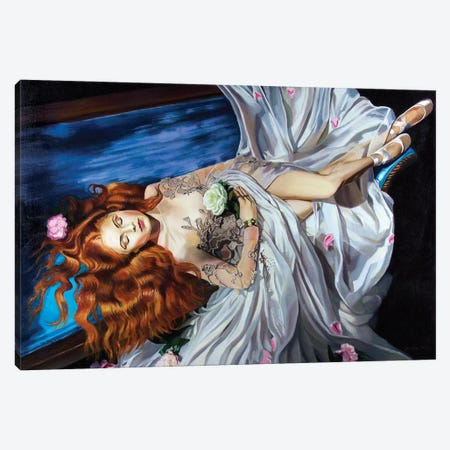 Sleeping Beauty Canvas Print #SGT2} by Serghei Ghetiu Canvas Wall Art