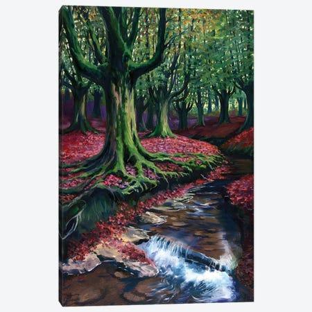 Mystical Forest II Canvas Print #SGT31} by Serghei Ghetiu Art Print