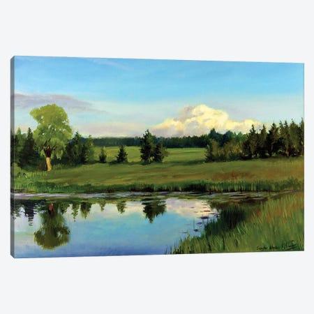 Summer Plaine Air Canvas Print #SGT33} by Serghei Ghetiu Canvas Art Print