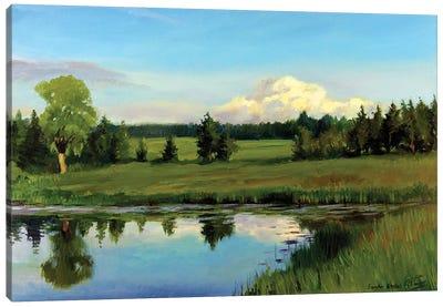 Summer Plaine Air Canvas Art Print