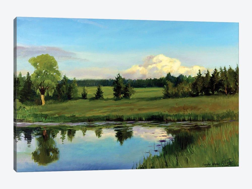Summer Plaine Air by Serghei Ghetiu 1-piece Canvas Wall Art