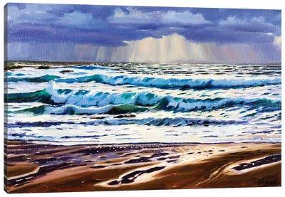 The Evening Canvas Art Print