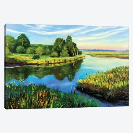 The Calm Summer Evening VI Canvas Print #SGT38} by Serghei Ghetiu Canvas Art Print