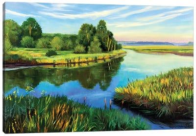 The Calm Summer Evening VI Canvas Art Print