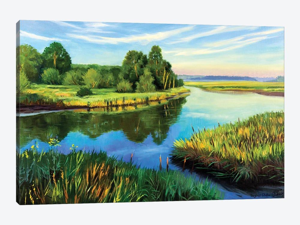 The Calm Summer Evening VI by Serghei Ghetiu 1-piece Art Print