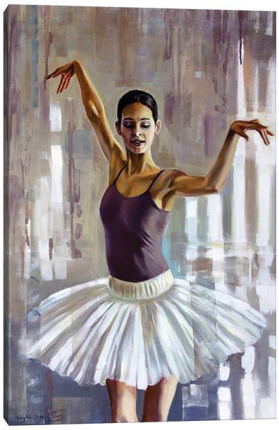 Fallen In Love With Dance I Canvas Art Print