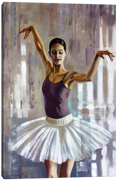 Fallen In Love With Dance I Canvas Art Print