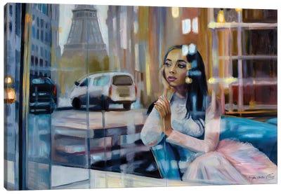 Once In Paris Canvas Art Print