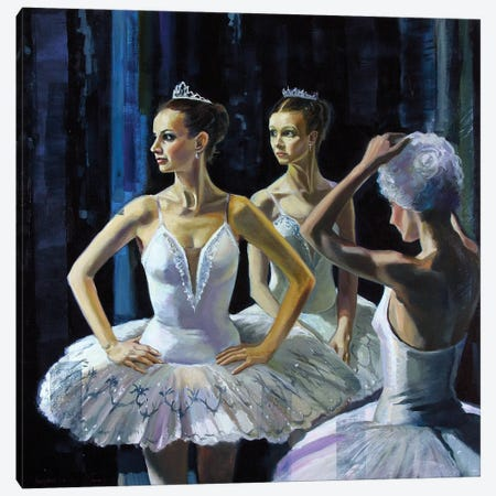 Behind The Scenery II Canvas Print #SGT4} by Serghei Ghetiu Canvas Print