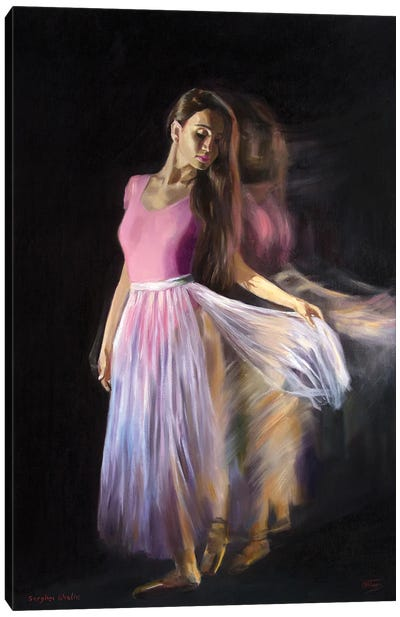 Between Darkness And Light Canvas Art Print