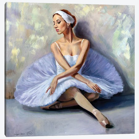 At The Ballet School Canvas Print #SGT58} by Serghei Ghetiu Canvas Print