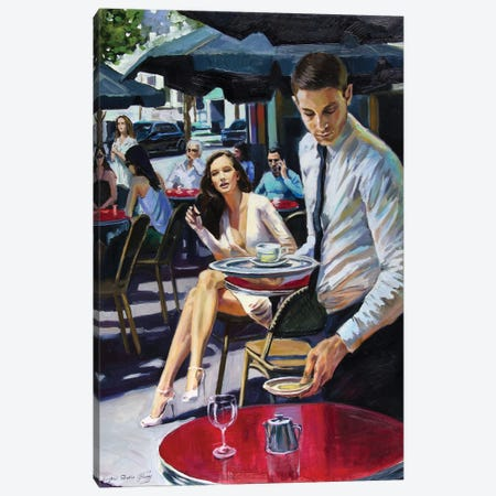 Excuse Me, Sir! Canvas Print #SGT80} by Serghei Ghetiu Canvas Wall Art