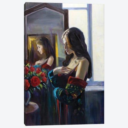 A Dialogue With Roses Canvas Print #SGT82} by Serghei Ghetiu Canvas Wall Art