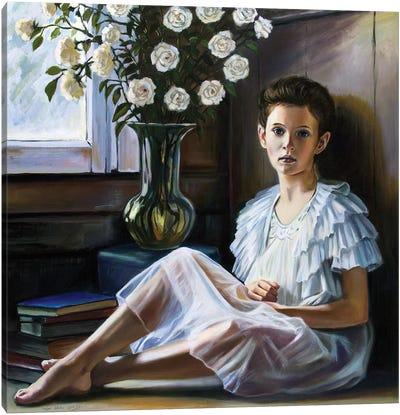 The Village Girl Canvas Art Print
