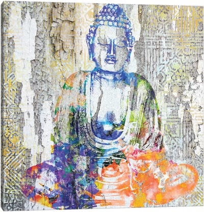 Timeless Buddha II Canvas Art Print