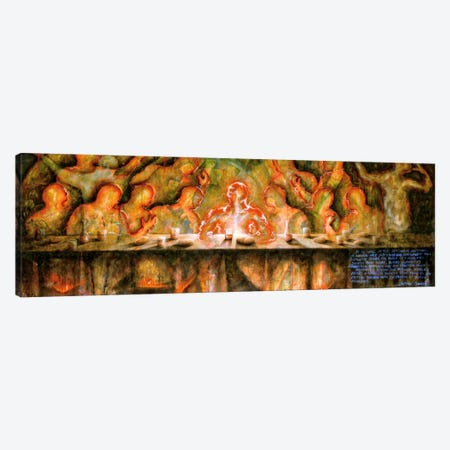 Last Supper Canvas Print #SGZ10} by Sergio Gomez Canvas Art Print