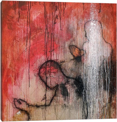 Meditation in Red Canvas Print #SGZ12