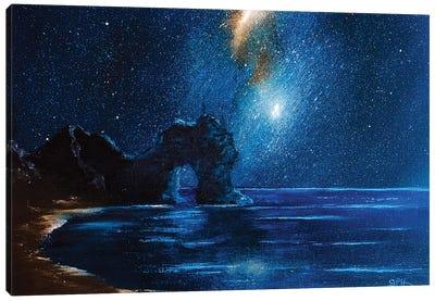 High Tide At Durdle Door Canvas Art Print