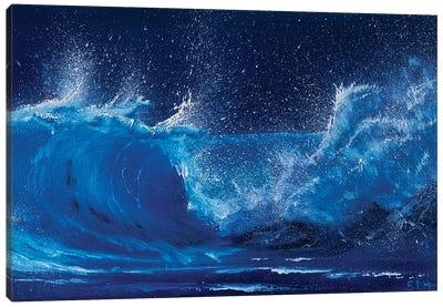 I Am The Ocean Canvas Art Print