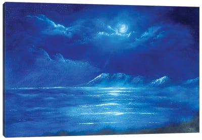 Moonlight Bay Canvas Art Print