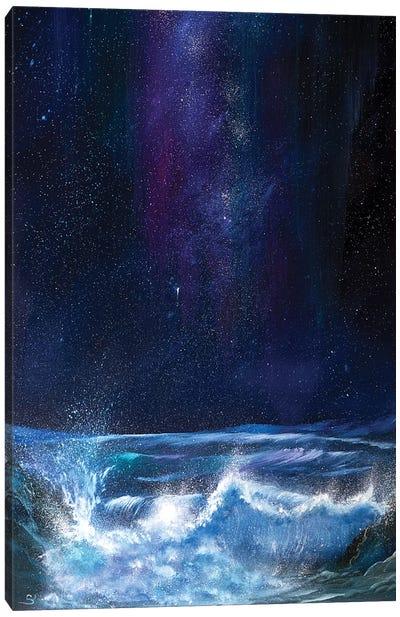A Touch Of Aurora Canvas Art Print