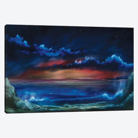 Towards Night Canvas Print #SHC25} by Simon Hackney Canvas Artwork
