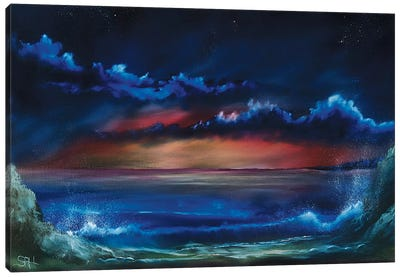 Towards Night Canvas Art Print