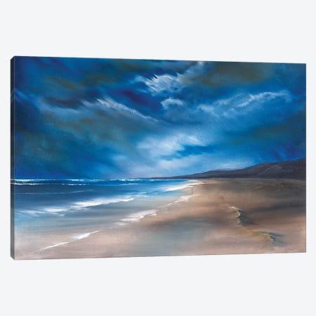 Tregantle Canvas Print #SHC27} by Simon Hackney Canvas Art