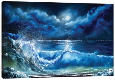 Where Moonlight Plays Canvas Art Print