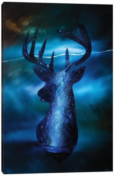 Thunder In My Dreams Canvas Art Print