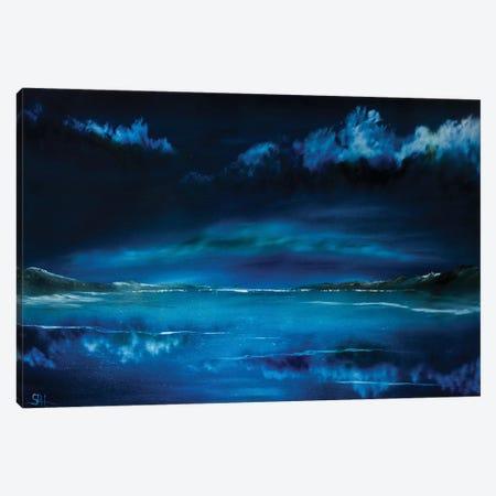 Still Waters Run Deep Canvas Print #SHC34} by Simon Hackney Canvas Art Print