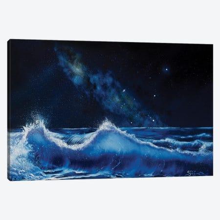 The Dawning Of Aquarius Canvas Print #SHC35} by Simon Hackney Canvas Art Print