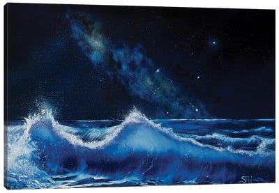 The Dawning Of Aquarius Canvas Art Print