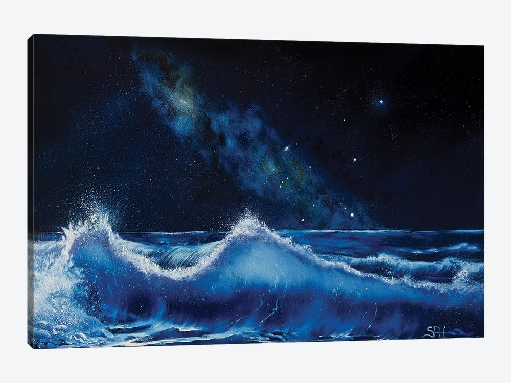 The Dawning Of Aquarius by Simon Hackney 1-piece Canvas Print