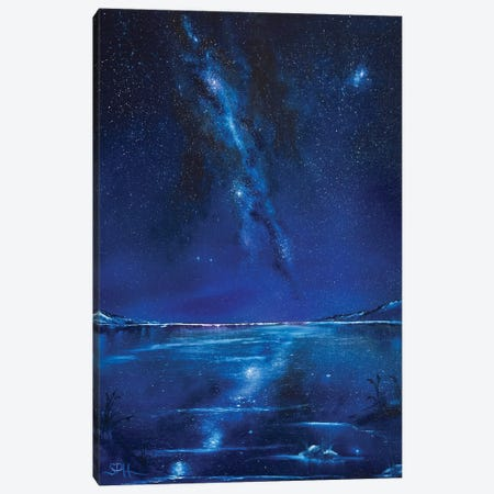 The Sound of Silence Canvas Print #SHC38} by Simon Hackney Canvas Artwork