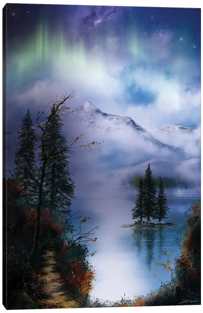 Into Winter Canvas Art Print