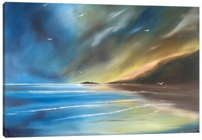 Born On The Wind Canvas Art Print