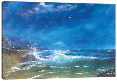 Breaker Canvas Art Print
